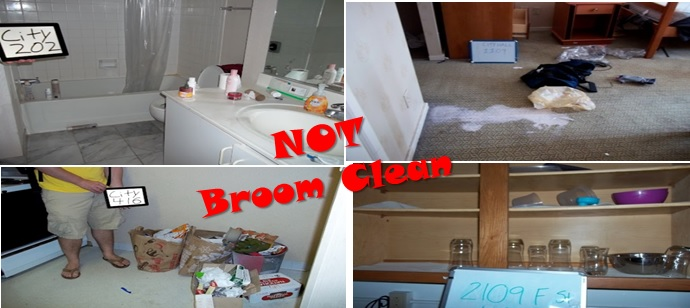 Not Broom Clean