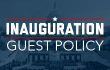 Inauguration Guest Policy