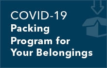 COVID-19 Packing Program for Your Belongings
