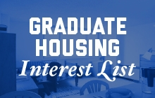 2017-2018 Graduate Housing Interest List