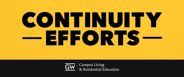 Campus Living Continuity Efforts