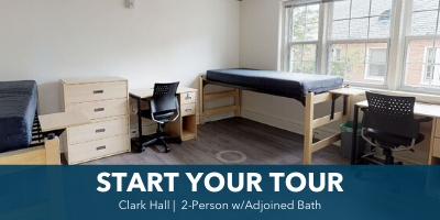 Clark Hall 2-Person Room Tour