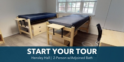 Hensley Hall 2-Person Room Tour