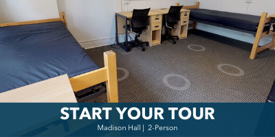 Madison 2-Person Room Tour