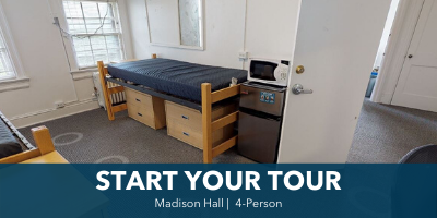 Madison 4-Person Room Tour