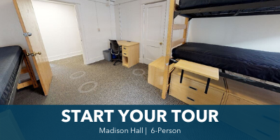 Madison 6-Person Room Tour
